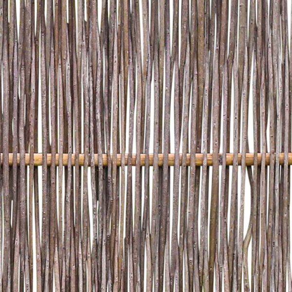 Robinienzaun LATO Kompakt, mit seitlichem Rahmen