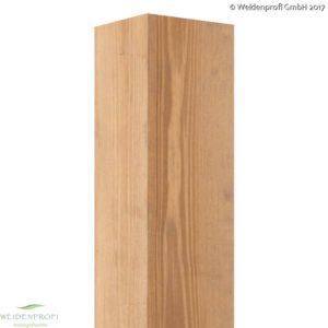 Holzpfosten Kiefer quadratisch, gebeizt, 7x7 und 9x9