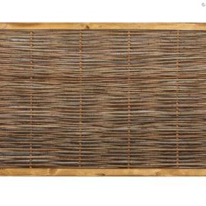 Robinienzaun CAMBO, waagrecht geflochten, 150 x 60