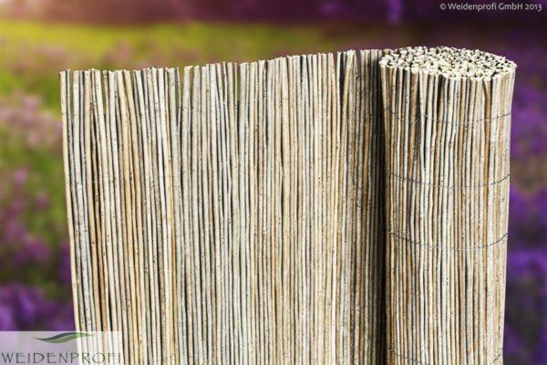 Robinienmatte, Sichtschutzmatte Robinie 300 x 50