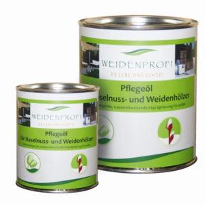 Holzöl, Pflegeöl für Naturzäune und Holzmöbel, 0,75 Liter